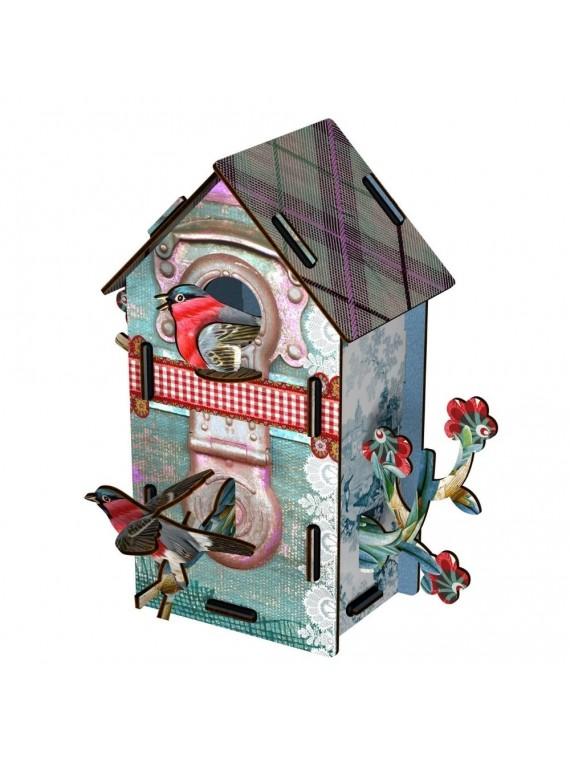 Miho casetta decorativa 2 piani - playmates